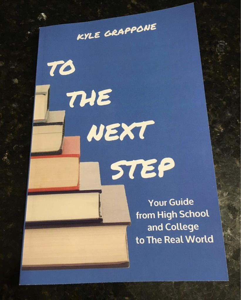 Laurie Genevish of My Ideal College interviews Kyle Grappone about his book To The Next Step